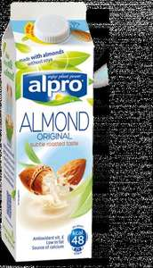 Free Alpro Almond drink Coupon to redeem in the store