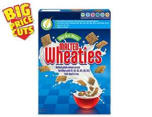 Malted Wheaties 625 grams Shreddies copy - taste exactly the same to me 95p @ Aldi