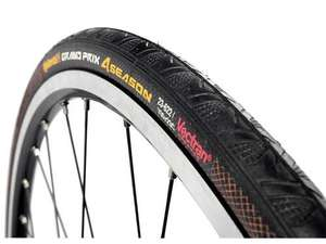 Continental GP 4 Season tyre 700x23c £25.49 delivered @Amazon (£20.49 with Amex payment & code)