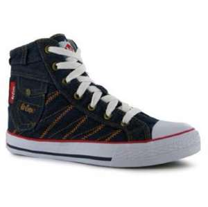 Lee Cooper Denim Ladies High Tops £8.99 @ Sports direct