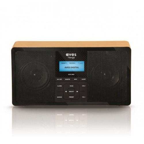 Aves Tango - Stereo Wood Finish Digital Radio - 29.99 - Robert Dyas RRP 79.99