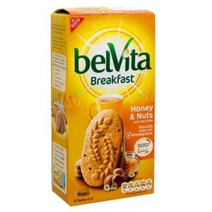 Belvita Breakfast Biscuits All Varieties Half Price £1.29 @ Tesco