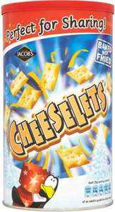 Large tubs of Jacobs cheeselets £1.50 @ iceland