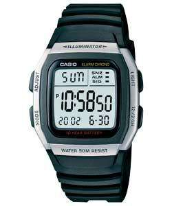 Casio W-96H-1AVES Men's Resin Smart Digital LCD Watch £9.99 at Argos