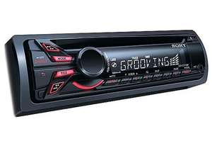 Sony CDX-GT270 CD/MP3 player with front AUX input at Halfords