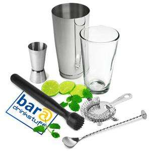 Boston Cocktail Shaker Set with Jigger Measure save 57% £9.99 @ Drinkstuff.com