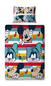 Character World Disney Mickey Mouse Play Single Rotary Duvet Set, Multi-Color @ Amazon.co.uk £10.57(Free delivery)