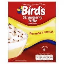Bird's Strawberry Trifle Mix at Asda