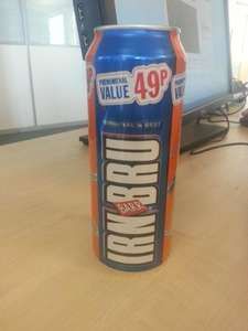 500ml Irn Bru Cans 49p! @ Best One (probably other stores)