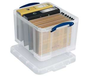 35L Really Useful Storage Box - set of 4 for £32 (£8 each) @ Asda