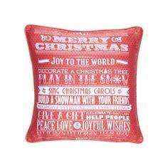 Christmas Cushions & Draught Excluders @ Dunelm Mill - 2.49 & 3.99
