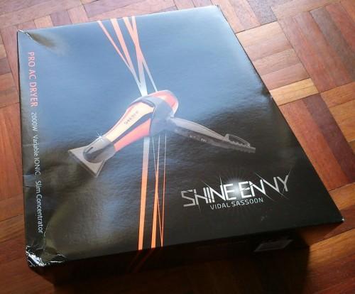 Vidal Sassoon Shine Envy 2000w Hair Dryer £12.99 @ b&m bargains
