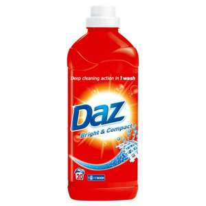 daz bright and compact washing liquid 20 washes at SUPERDRUG