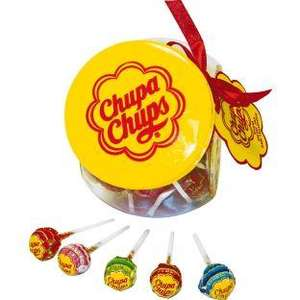 Chupa Chups Glass jar with lollies at Argos £7.99
