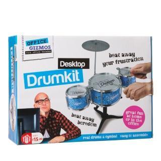 B&M Stores Desktop Drum Kit £4.99 secret santa idea?