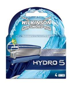 Wilkinson Sword Hydro 5 Blades Refill (Pack of 4) £5.66 delivered Amazon