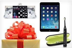 Groupon Secret Santa: Mystery Gift for £9.99 or £19.99, With Chance to Receive an Apple iPad Air
