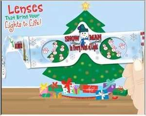 Christmas 3D Glasses (Perfect For Kids) GingerBread Men / Reindeer / Santa / Snowmen £1.99 each. @ Homebase (Instore Only)
