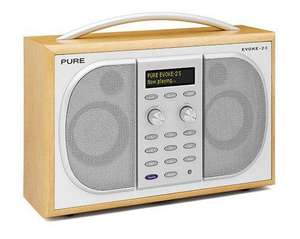 £40 off Pure Evoke 2S Luxury Portable Stereo DAB/FM Radio £109.19 @ Amazon
