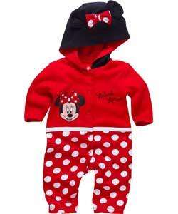 Minnie Mouse Baby Girls Onesie (0-3, 3-6, 6-9) @ Argos