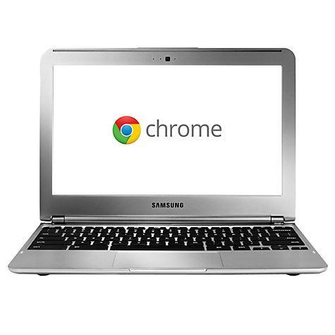 "Samsung XE303C12-H01 Chromebook, Exynos 5250, Wi-Fi/3G, 11.6"", Silver £199  @ John Lewis"