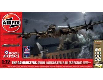 Tesco Airfix 1/72 lancaster bomber gift set £8
