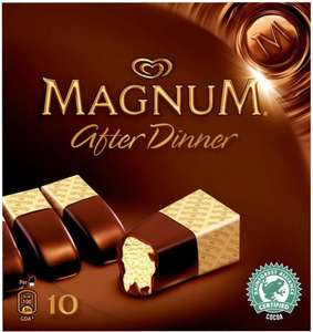Wall's Magnum After Dinner Ice Creams (10 per pack - 350ml) was £3.49 now £2.00 @ Tesco