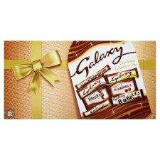 Galaxy Large Selection Box 262G BOGOF £3.50 for 2 @ Tesco