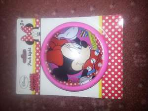 minnie mouse night light £1 at pound land nice stocking filler