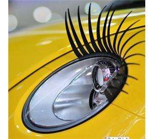 Totally hideous PAIR OF CURLY SEXY EYELASHES FOR CARS FITS ALL MAKES ONLY £1.45 delivered @ universalgadgets