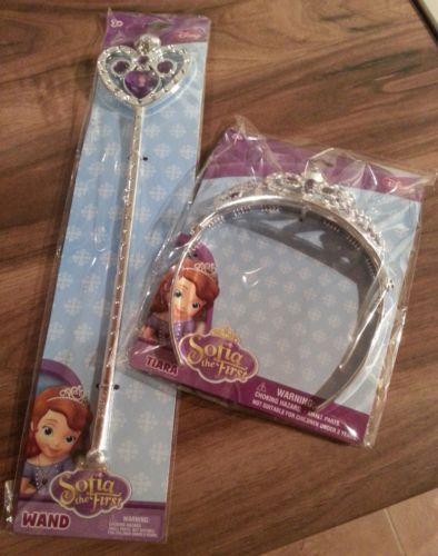 Disney Princess SOFIA THE FIRST Tiara or Wand £1 @ POUNDWORLD