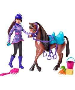 Barbie skipper and horse playset £16.59 at argos