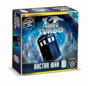Doctor Who Top Trumps Turbo Game £12.49 @ Amazon