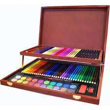 Complete Colouring & Sketch Studio - Huge Art Set - £7.50, THE WORKS