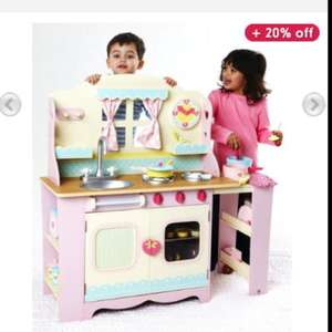 ELC Wooden Cottage Kitchen @ Mothercare was £150 now £80 in stock.