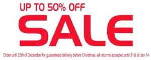 Upto 50% off at Adams clearance plus free worldwide shipping
