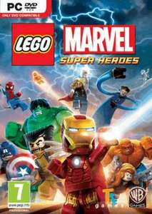 LEGO Marvel Super Heroes (PC) - £12.99 at Game