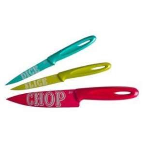 Jamie Oliver Funky 3 piece knife set at Amazon £13