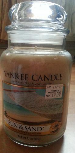Yankee Candle large jars £9.99 @ Hallmark (Dalton Park)