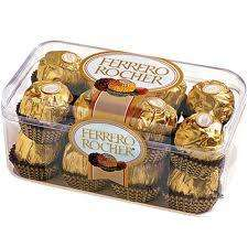 Ferrero Rocher chocolates x16 £3 @ Tesco, Coop and Asda.