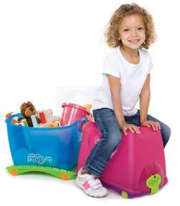 Trunki Travel ToyBox - Blue or Pink - £7.99 - Click & Collect in 20 mins @ ToysRus