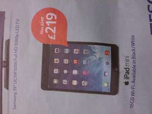 iPad Mini - £219 @ Tesco Extra stores only