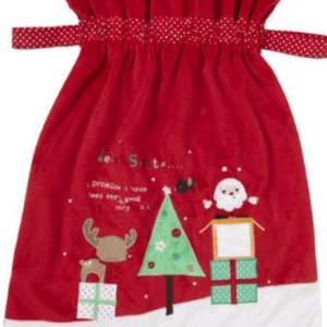 Santa sack with photo slot. Mothercare was £15 now £6