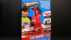 Hot Wheels Car Maker Playset half price at £24.99 at Argos