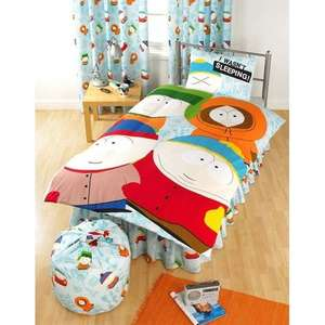 south park double bedding duvet cover set £22.95 @ Universal Textiles