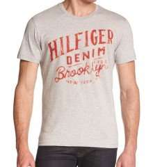Tommy Hilfiger Denim T Shirts 71% off + 15% off with code + Free Delivery £8.49 @Thefashionhut