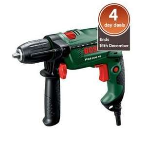 4 day deal Bosch PSB 500 RE Hammer Drill - 500W £27.49  (+£3.95 if delivered)  @ Homebase