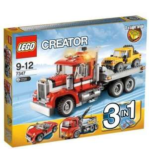 LEGO Creator Highway Pickup 7347 £30.39 with code @ The Hut