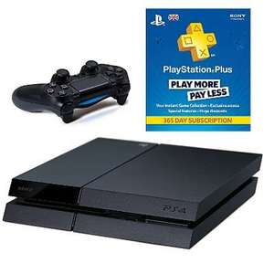 PlayStation 4 500BG Console + PlayStation Plus Card £386 @ ASDA