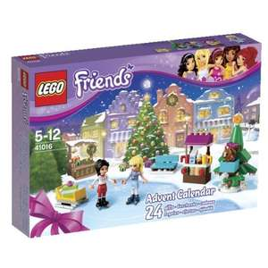 Lego Friends 41016 Advent Calendar £9.99 @ Amazon